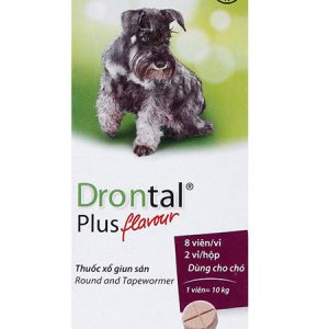 Drontal- Siro tẩy giun cho chó con