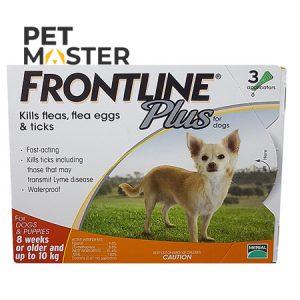 Sản Phẩm Thuốc Trị Ve Rận Frontline Cho Chó Nhỏ Hơn 10kg