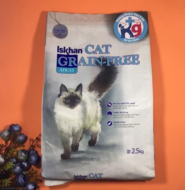 thức ăn cho chó mèo Iskhan
