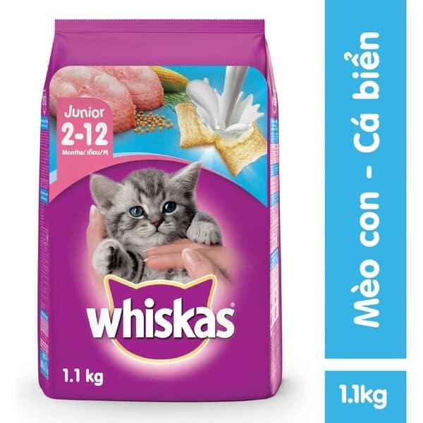 Thức ăn Whiskas cho mèo nhỏ