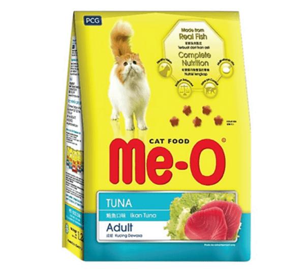 nguồn gốc thức ăn mèo Me-o