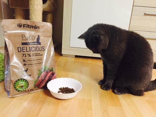 các loại thức ăn Fitmin Purity Kitten