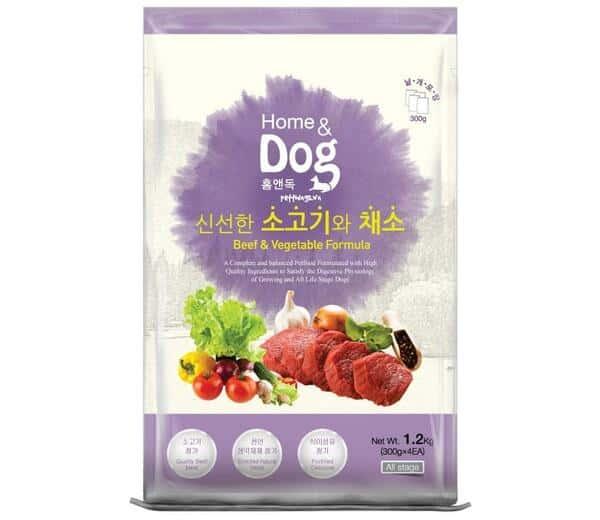 Home & Dog vị thịt bò và rau củ quả