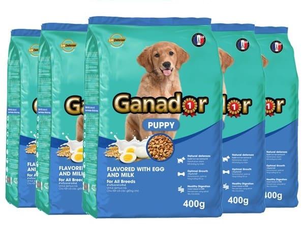 Ganador Puppy trứng và sữa