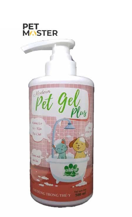 Petgel Shampoo - sữa tắm trị ve rận cho thú cưng