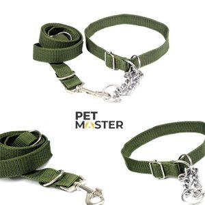 Bộ dây cổ bộ đội cho chó