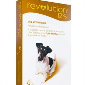 Revolution 5-10kg - thuốc nhỏ gáy trị ve rận cho chó trưởng thành