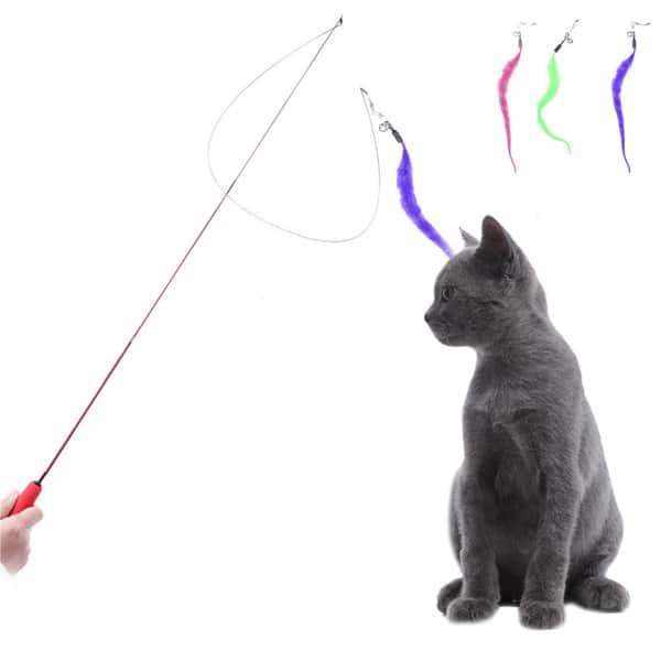 lợi ích của đồ chơi với mèo