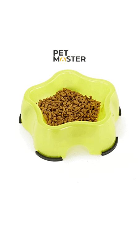 Bát nhựa hình sao cho chó mèo
