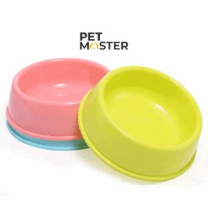 Bát nhựa tròn cho chó mèo