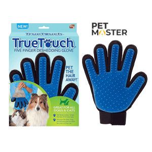 Bàn tay cào lông cho chó mèo