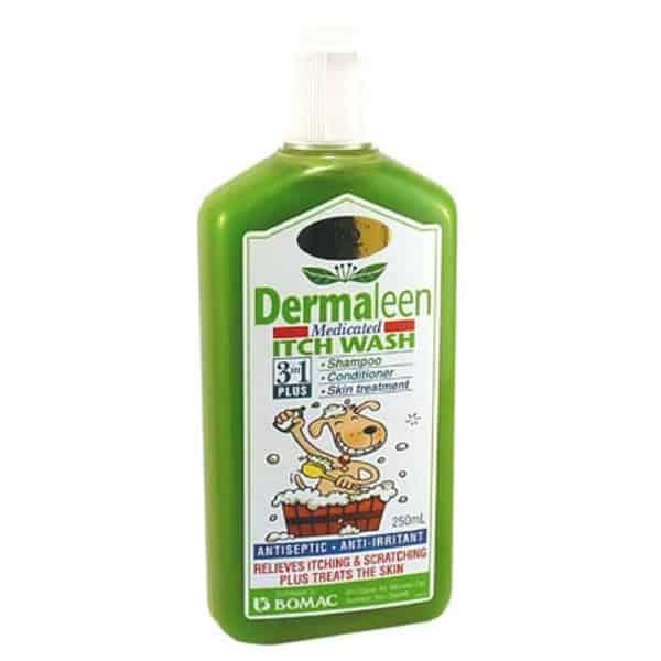 Sữa tắm trị viêm da cho chó Dermaleen