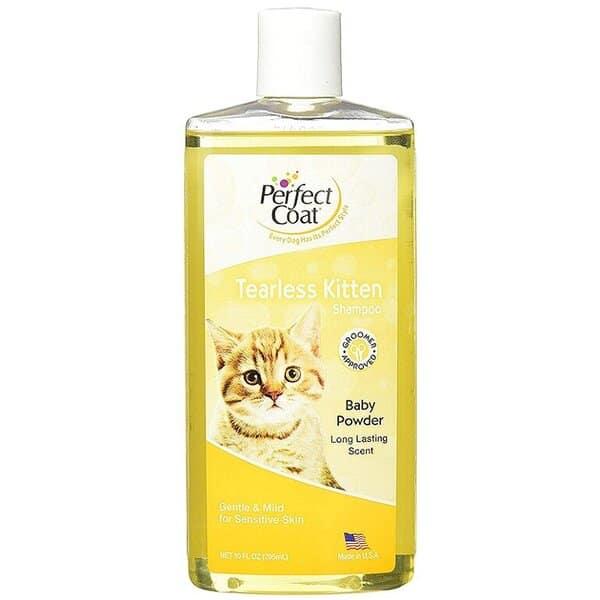 Perfect Coat Tearless Kitten: Sữa tắm dịu nhẹ phù hợp với mèo con