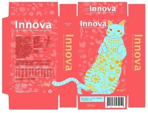 Sức hấp dẫn đến từ thức ăn tươi cho thú cưng Innova